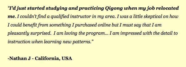 Qigong Testimonial 3